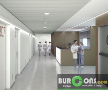 Planta 3ª Hospitalización en Clínica Ponent (Lleida)