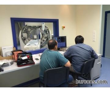 Instalación de TAC servicio de Urgencias (Salamanca)